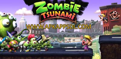 Download Zombie Tsunami Apk Mod v3.3.0 Full Version 2016
