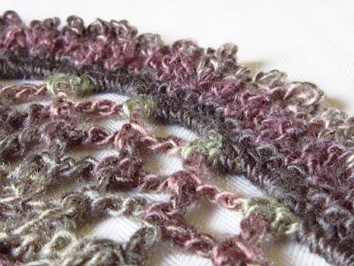 Crochet is the Way, design, WIP