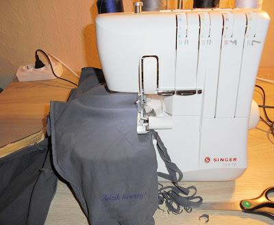 Szycie DIY - Jak zwęzić nogawki w spodniach