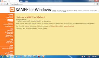 Cara Instal Xampp di Windows