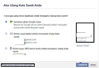 Tips Membuka Facebook Karena Lupa Pasword Atau Email