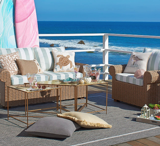 Outdoor Wicker Furniture Coastal Living