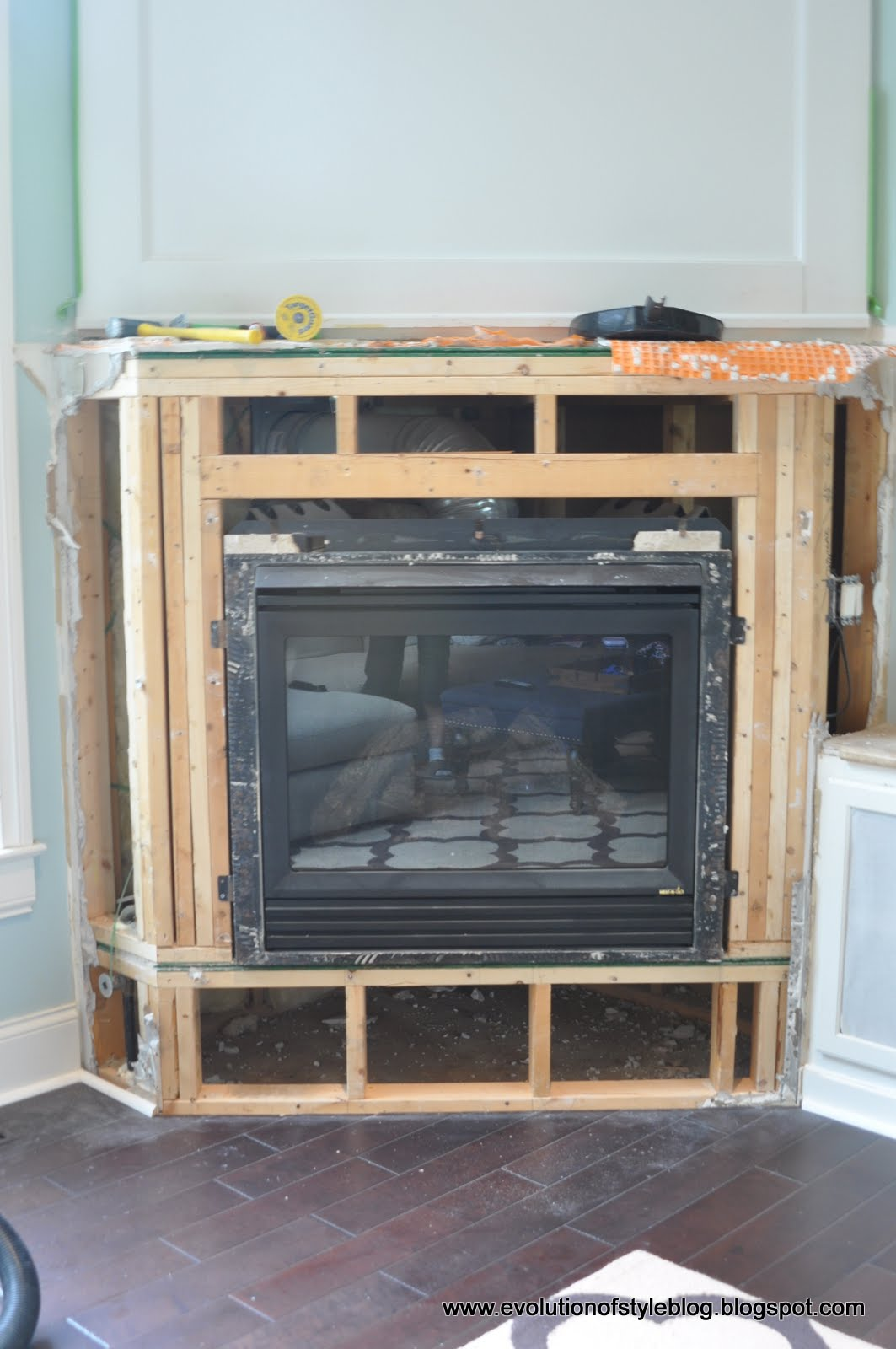 options stone fireplace makeover 2 0 evolution of style