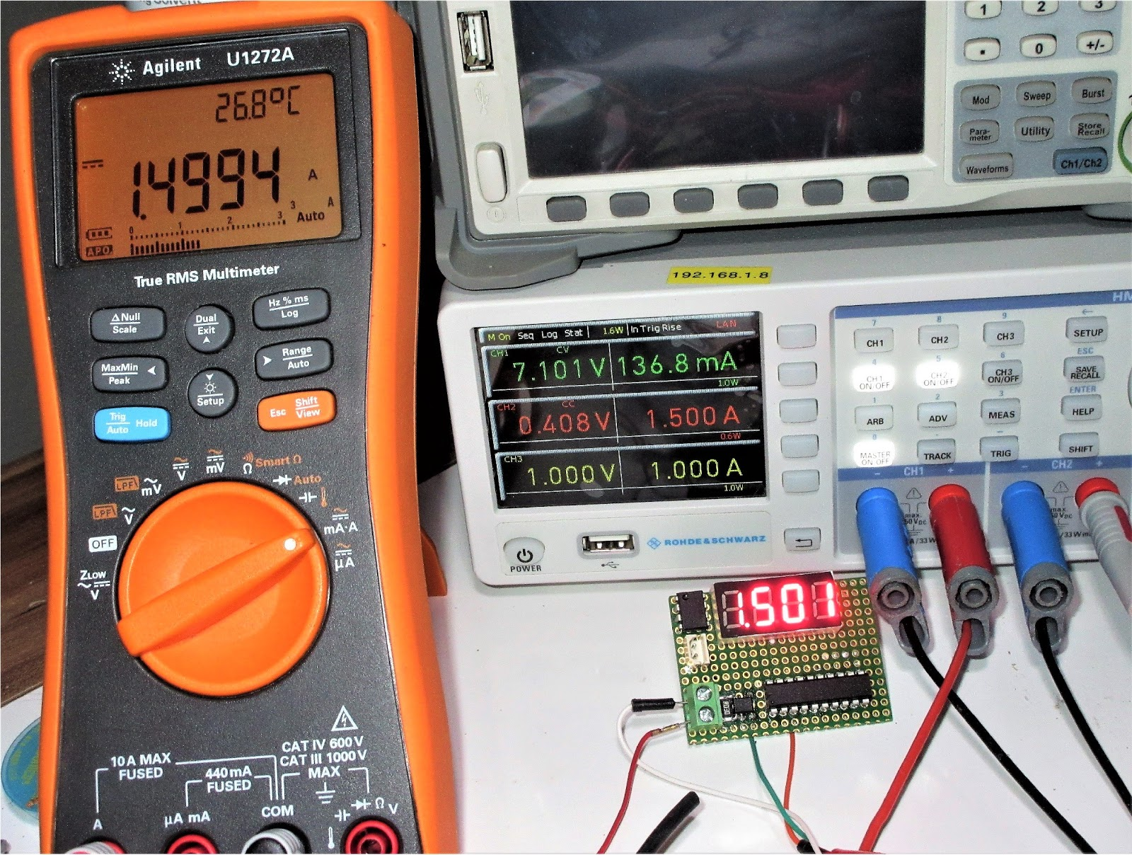 Embedded Engineering : Simple 3A DC Current Meter Using PIC