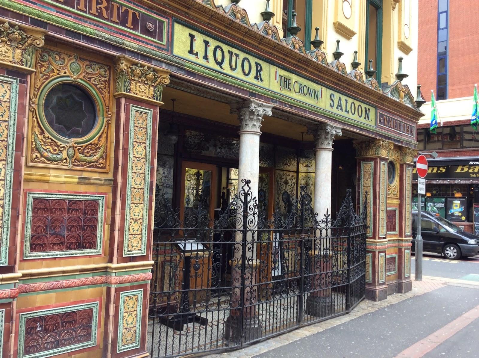 The Crown Liquor Saloon, Belfast, NI