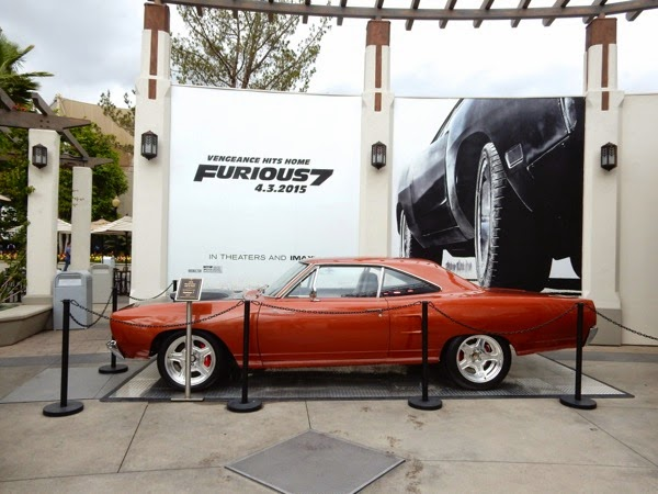1970 Roadrunner Furious 7 movie car