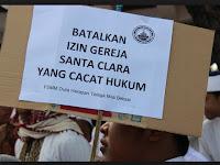 Demo Tolak Pembangunan Santa Clara di Bekasi Berujung Ricuh