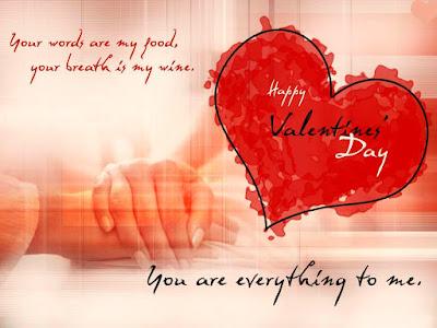 Wonderful Valentines Day My Love