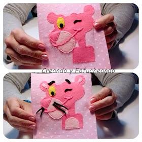 paso-a-paso.diy-cómo-hacer-un-cojin-de-la pantera-rosa-en-fieltro-creandoyfofucheando
