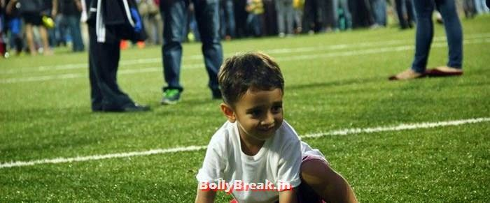 Azad Rao Khan, Bollywood Celebs play football match for Aamir khan's daughter Ira Khan