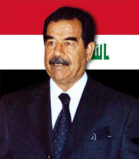 Foto Saddam Hussein presiden legendaris Irak