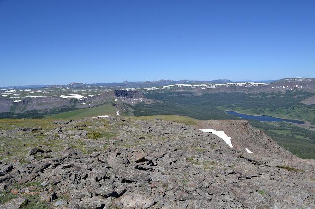 the ridge line to travel