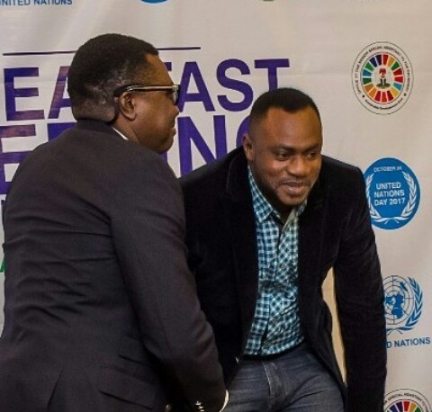 Actor Odunlade Adekola Spotted with Legend Comedian Alibaba