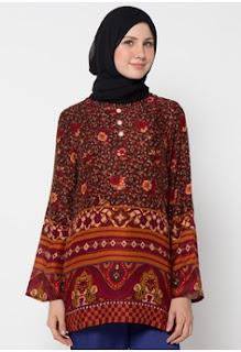 Aneka Model Batik Muslim Kerja