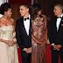Barack Obama's wametuletea Fashion za  hizi picha za jana usiku kwenye dinner