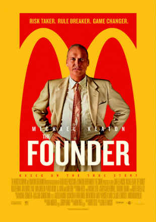 The Founder 2016 Dual Audio BRRip 720p In Hindi English