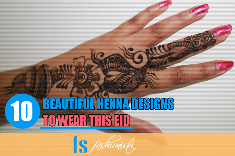 Easy Henna Designs for Eid