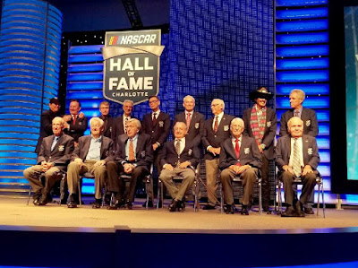 And that's a wrap for the Class of 2018 Induction Ceremony! A magical night where we welcomed five new #NASCARHOFers.