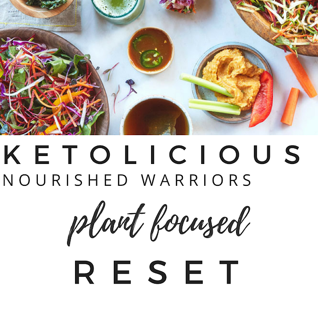 How Would You Like To Be Ketolicious? I Plant Focused Keto Dieting