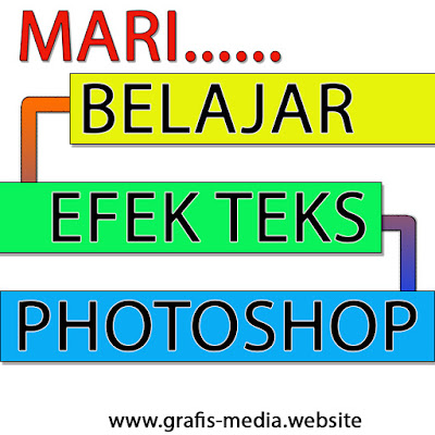 belajar edit tulisan di photoshop