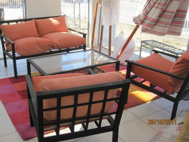 Decorando Dormitorios Muebles De Fierro Para Terraza
