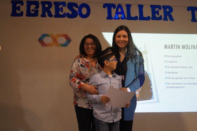 Niños autistas egresaron de Primer Taller NANEAS del Hospital Osorno