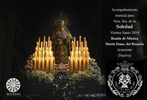 La Banda de Música de Ayamonte continuará acompañando a la Soledad de Archidona