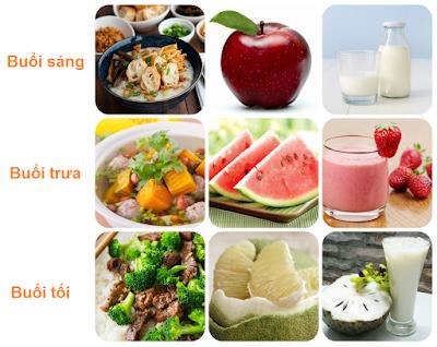 Ăn đủ 3 bữa để tăng cân tự nhiên tốt nhất