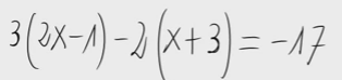 30. Ecuación de primer grado