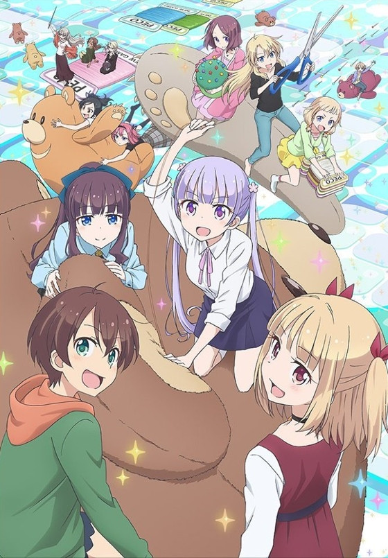 Plakat New Game!! - drugiego sezonu anime