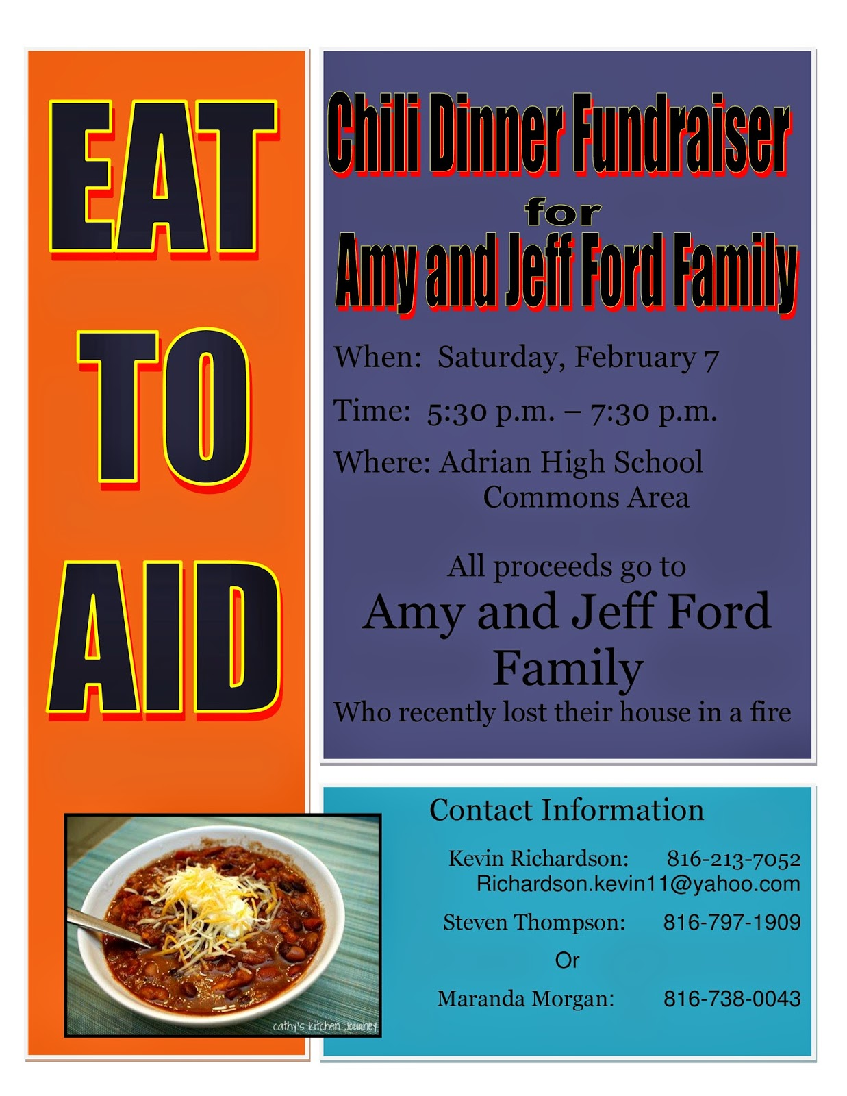 Gophers and Cheese: 2011 SCVR Chili Feed This Weekend  |Chili Feed Fundraiser