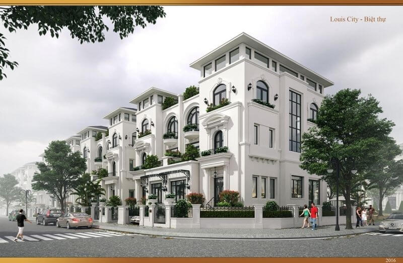 Biệt Thự Louis City Hoàng Mai
