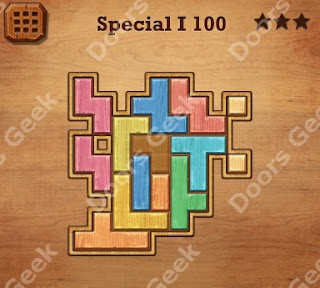 Cheats, Solutions, Walkthrough for Wood Block Puzzle Special I Level 100
