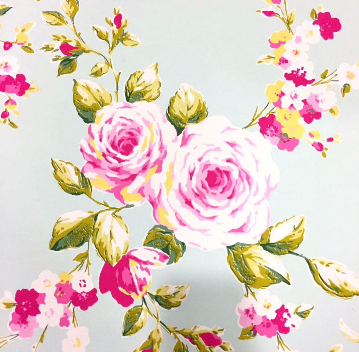White And Pink Floral Wallpaper Free Wallpapers