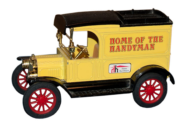 This is the first bank/truck issued in Series 1 from Home Hardware.