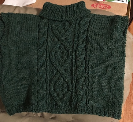 0b07086f7 Don t Drool on the Wool  FO  Penny s Oversize Sweater