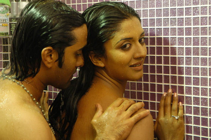 Vimala Raman Wet In Bath Towel Making Love With Lover -5962