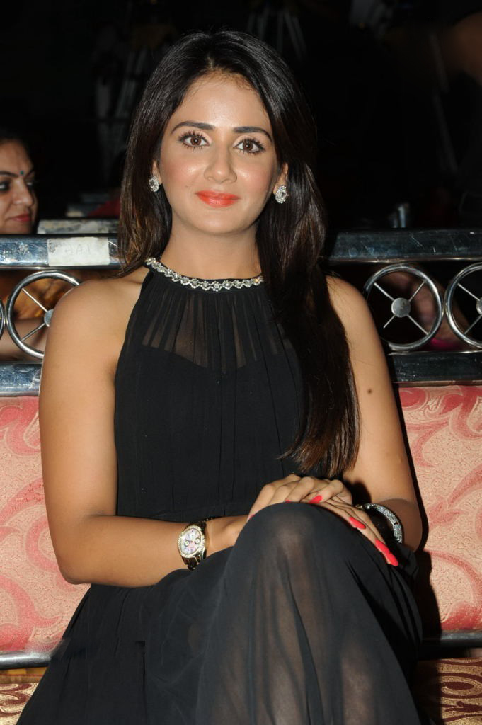 Parul Yadav Hot Stills In Black Dress