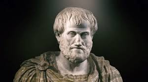 Sculpture that provides a portrait of Aristotle, the Macedonian philosopher who taught Alexander the Great and still lived half his life in Athens
