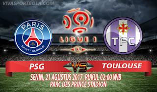 Prediksi Paris Saint Germain vs Toulouse 21 Agustus 2017
