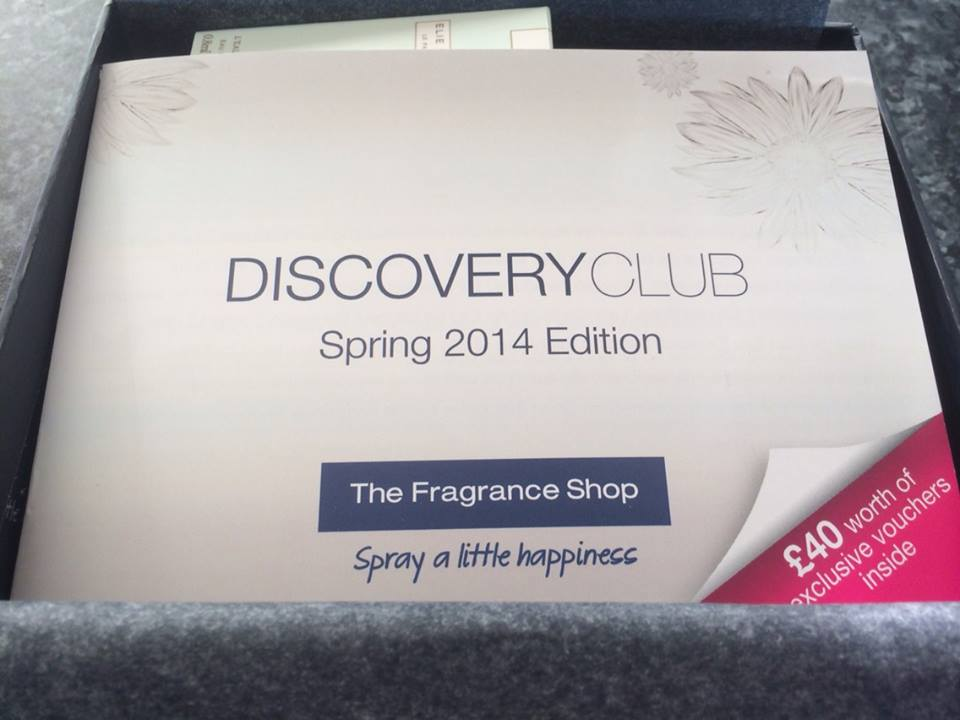 Fragrance Shop Discovery Club - Spring Edition 2014