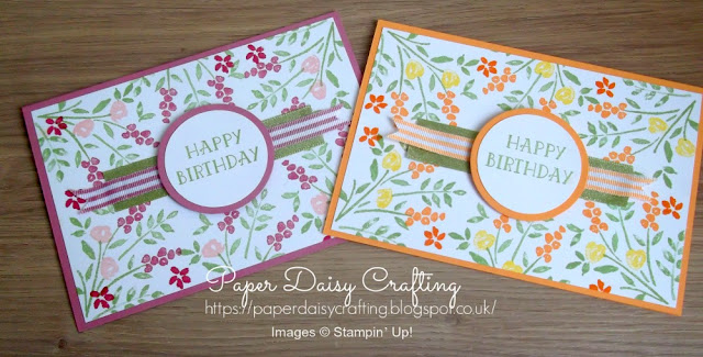 Number of Years from Stampin' Up! handmade birthday card