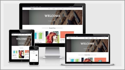 View Blogger template responsive