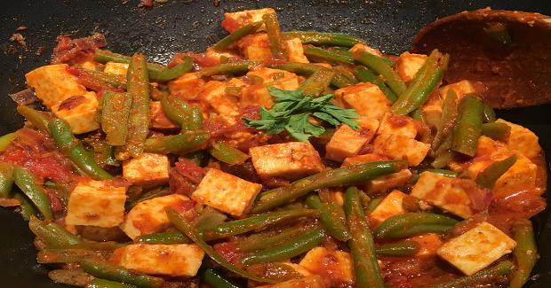 Honey Paneer With Beans Recipe
