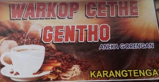 Warkop Cethe Gentho