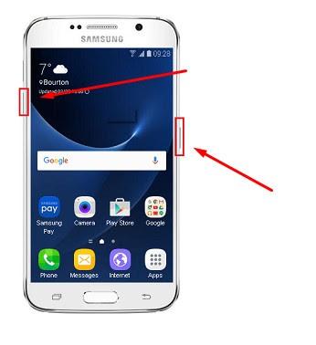 Cara Restart Samsung Galaxy S7 yang Hang