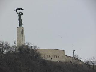 Estatua de la Libertad Budapest 2
