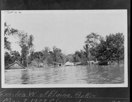 Great Flood of 1927 near Elaine