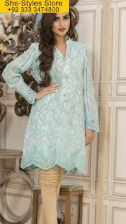 Veena Durrani Party Wear Tunics 2017