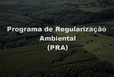Resultado de imagem para programa de regularização ambiental